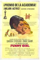 Funny Girl - Spanish Theatrical movie poster (xs thumbnail)