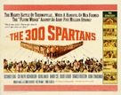 The 300 Spartans - British Movie Poster (xs thumbnail)