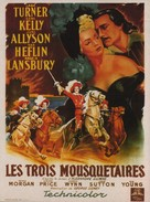 The Three Musketeers - French Movie Poster (xs thumbnail)