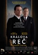 The King's Speech - Slovak Movie Poster (xs thumbnail)