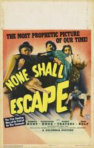 None Shall Escape - Movie Poster (xs thumbnail)