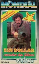 Un dollaro tra i denti - German VHS cover (xs thumbnail)