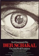 The Day of the Jackal - German Movie Poster (xs thumbnail)