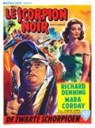 The Black Scorpion - Belgian Movie Poster (xs thumbnail)
