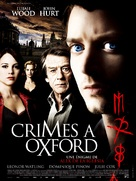 The Oxford Murders - French Theatrical poster (xs thumbnail)