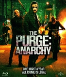 The Purge: Anarchy - Blu-Ray cover (xs thumbnail)