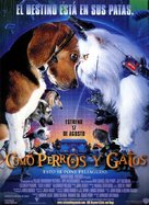 Cats & Dogs - Spanish Movie Poster (xs thumbnail)