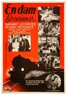 The Lady Vanishes - Swedish Movie Poster (xs thumbnail)