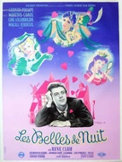Les belles de nuit - French Movie Poster (xs thumbnail)