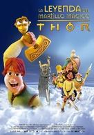 Hetjur Valhallar - Þór - Spanish Movie Poster (xs thumbnail)