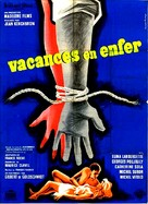 Vacances en enfer - French Movie Poster (xs thumbnail)