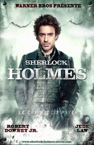Sherlock Holmes - French Movie Poster (xs thumbnail)