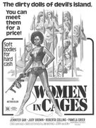 Women in Cages - Movie Poster (xs thumbnail)