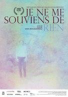 Je ne me souviens de rien - French Movie Poster (xs thumbnail)