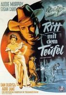Ride Clear of Diablo - German Movie Poster (xs thumbnail)
