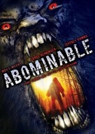 Abominable - DVD cover (xs thumbnail)