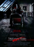 Sweeney Todd: The Demon Barber of Fleet Street - Mexican Movie Poster (xs thumbnail)