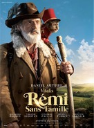 Rémi sans famille - French Movie Poster (xs thumbnail)