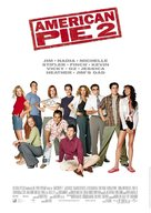 American Pie 2 - German Movie Poster (xs thumbnail)