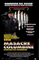 Bowling for Columbine - Mexican Movie Poster (xs thumbnail)