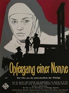 Le dialogue des Carmélites - German Movie Poster (xs thumbnail)