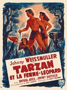Tarzan and the Leopard Woman - French Movie Poster (xs thumbnail)
