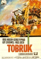 Tobruk - Spanish Movie Poster (xs thumbnail)