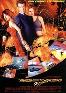 The World Is Not Enough - Spanish Movie Poster (xs thumbnail)
