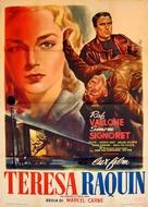 Thèrése Raquin - Italian Movie Poster (xs thumbnail)