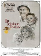 On Golden Pond - French Movie Poster (xs thumbnail)