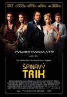 American Hustle - Slovak Movie Poster (xs thumbnail)