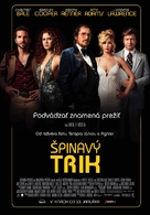 American Hustle - Slovak Movie Poster (xs thumbnail)