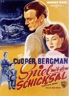 Saratoga Trunk - German Movie Poster (xs thumbnail)