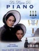 The Piano - French DVD cover (xs thumbnail)