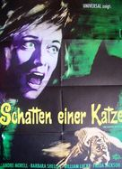 Shadow of the Cat - German Movie Poster (xs thumbnail)