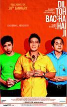 Dil Toh Bachcha Hai Ji - Indian Movie Poster (xs thumbnail)