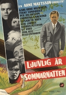 Ljuvlig är sommarnatten - Swedish Movie Poster (xs thumbnail)
