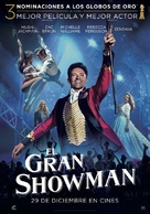 The Greatest Showman - Spanish Movie Poster (xs thumbnail)