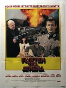 Escape to Athena - Swedish Movie Poster (xs thumbnail)