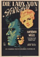 The Lady from Shanghai - German Theatrical poster (xs thumbnail)