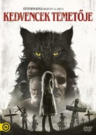 Pet Sematary - Hungarian DVD movie cover (xs thumbnail)