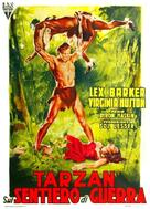 Tarzan's Peril - Italian Movie Poster (xs thumbnail)