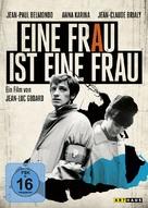 Une femme est une femme - German Movie Cover (xs thumbnail)
