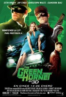 The Green Hornet - Spanish Movie Poster (xs thumbnail)
