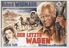 The Last Wagon - German Movie Poster (xs thumbnail)