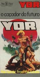 Il mondo di Yor - Brazilian VHS cover (xs thumbnail)