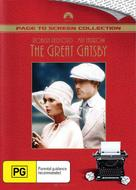 The Great Gatsby - Australian DVD cover (xs thumbnail)