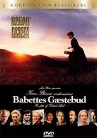 Babettes gæstebud - Danish DVD movie cover (xs thumbnail)