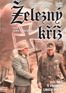 Cross of Iron - Czech DVD cover (xs thumbnail)