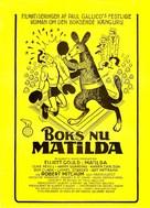 Matilda - Danish Movie Poster (xs thumbnail)